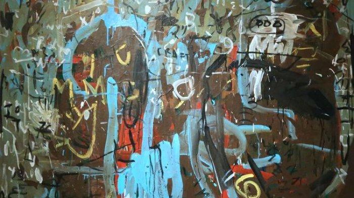 Sebanyak 25 Lukisan Abstrak Karya Yoes Rizal Mejeng di Galeri Nasional