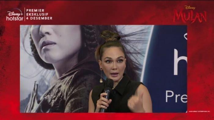 Lewat Suara Xianniang di Film Live Action Mulan, Luna Maya Ingin Terjun ke Industri Film Hollywood