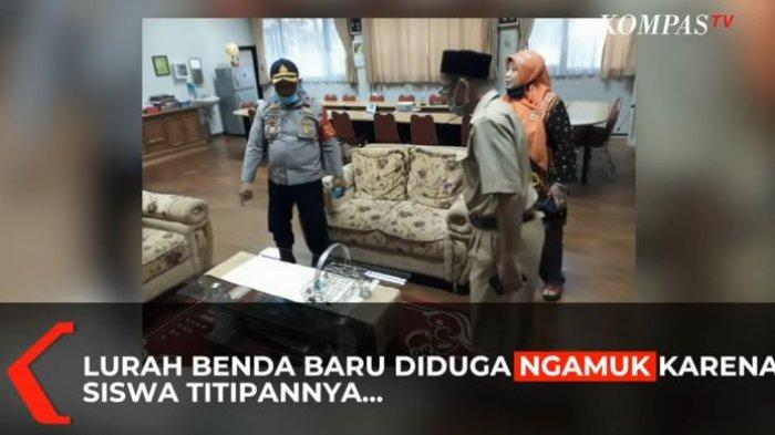 Polisi Tunggu Panggilan Surat Pemanggilan Lurah Benda Baru Perusak Fasilitas SMAN 3 Tangsel