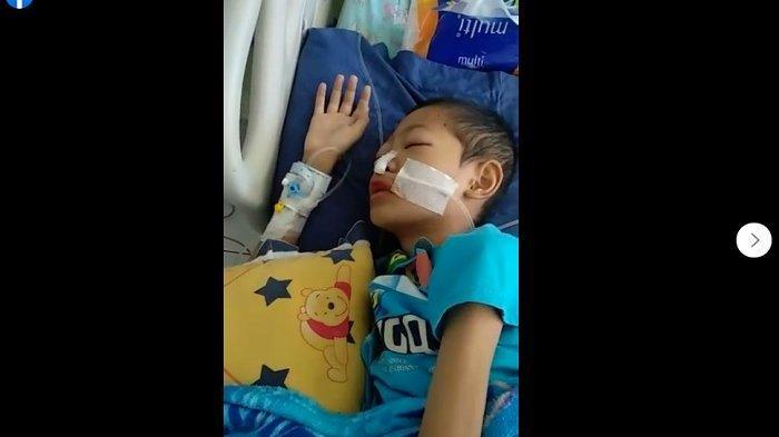 Viral Video Seorang Anak Mengigau, Lantunkan Al Quran Juz 29 saat di Rumah Sakit karena Sakit Keras