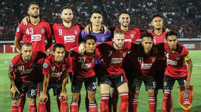 Tim Bali United saat berlaga di AFC Cup 2020