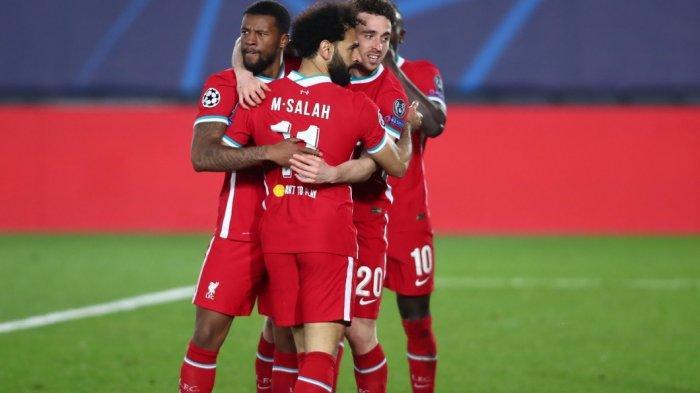 Skor Sementara Babak Kedua Real Madrid vs Liverpool 3-1, Gol M Salah Dibalas Gol Vinicius Lagi