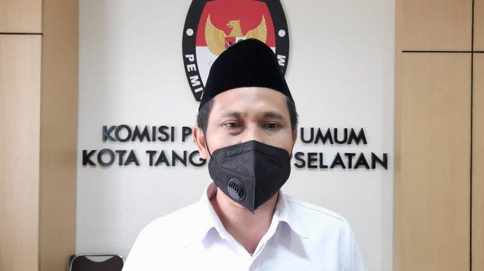 Ketua KPU Kota Tangsel, M Taufiq Mz.