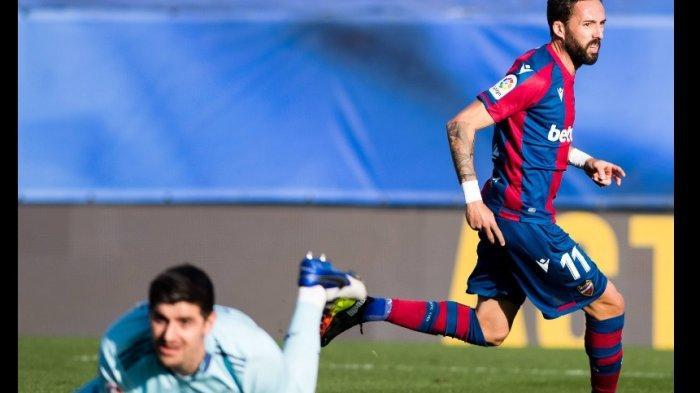 Real Madrid Keok Lagi, Kali Ini Dipermalukan Levante 1-2, Krisis Real Madrid Benar-benar Nyata?