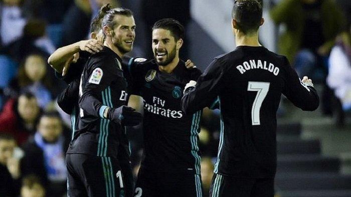 Link Live Streaming Real Madrid vs Celta Vigo: Ini Starting XI Kedua Tim, Isco dan Bale Jadi Starter