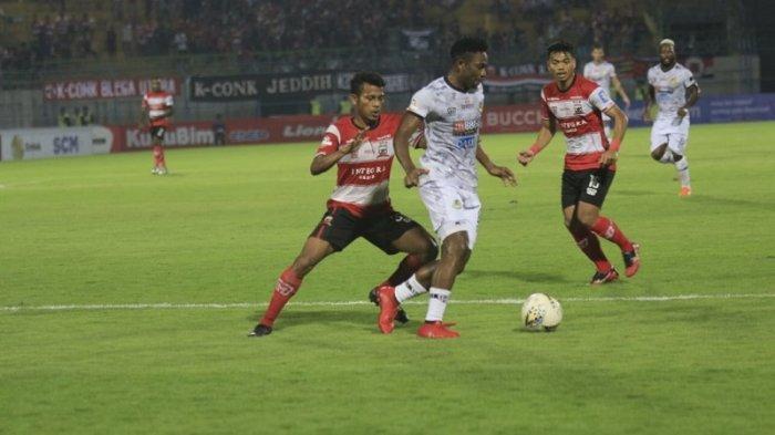 JELANG Madura United vs Persipura, Pelatih Madura Hanya Mau Menang, Tak Peduli Persipura Positif