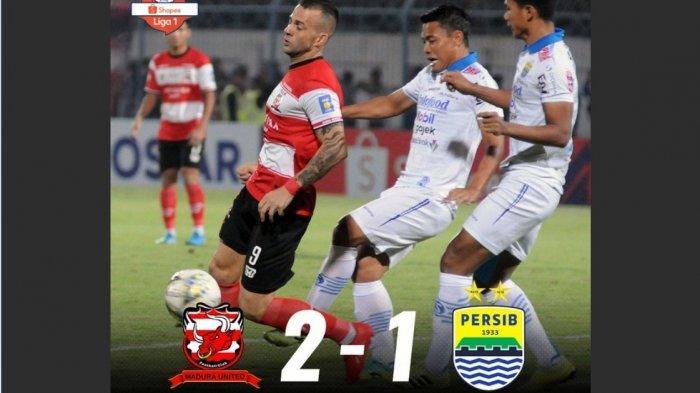 Dinilai Berat Sebelah dan Rugikan Persib Bandung, Wasit Laga Lawan Madura United Diperiksa Satgas