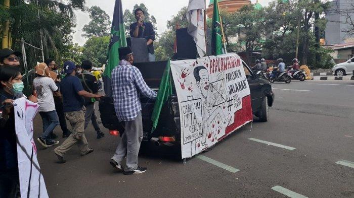 Digeruduk Mahasiswa Tolak Undang Undang Cipta Kerja, Wali Kota Tangerang Sudah Kirim Surat ke Jokowi