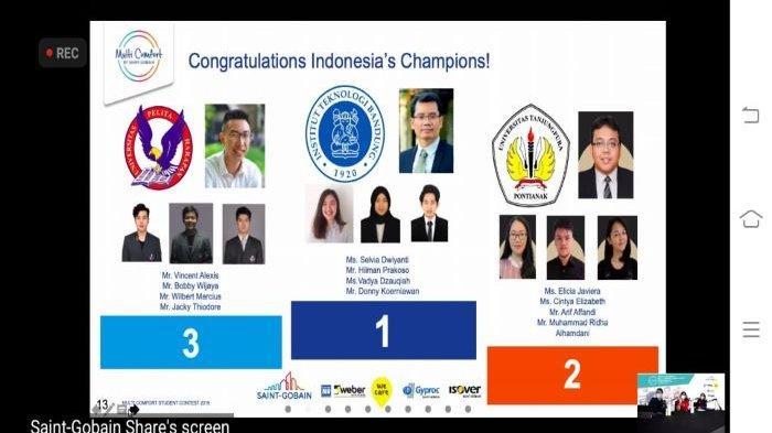 Mahasiswa ITB Juara di Kompetisi Desain Arsitektur, Wakili Indonesia di Saint Gobain MCSC Prancis