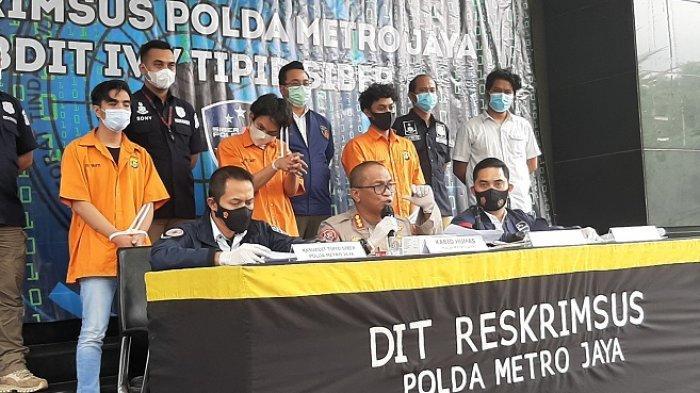 VIDEO Ini Tiga Mahasiswa yang Dibekuk Polda Metro Jaya Lantaran Jual Surat Hasil Swab PCR Palsu