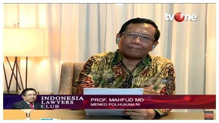 MAHFUD MD Blak-blakan di ILC Akui Banyak Pelanggaran HAM Era Jokowi, hingga SinggungRusuh Papua