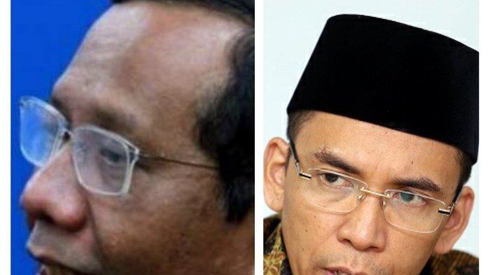 Adik Gus Dur Bilang Mahfud MD Lebih Tepat Dampingi Jokowi Dibandingkan Tuan Guru Bajang