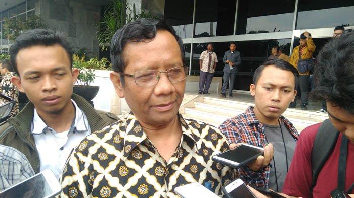 Mahfud MD Mengaku Tak Pernah Bahas Pilpres dengan Presiden Jokowi