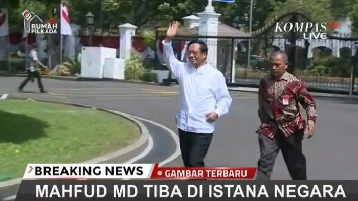 Panggil Mahfud MD Jadi Menteri, Jokowi Fokus Pada Pemberantasan Korupsi