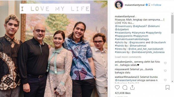 Anak-anak Maia Menangis Haru Saksikan Pernikahannya