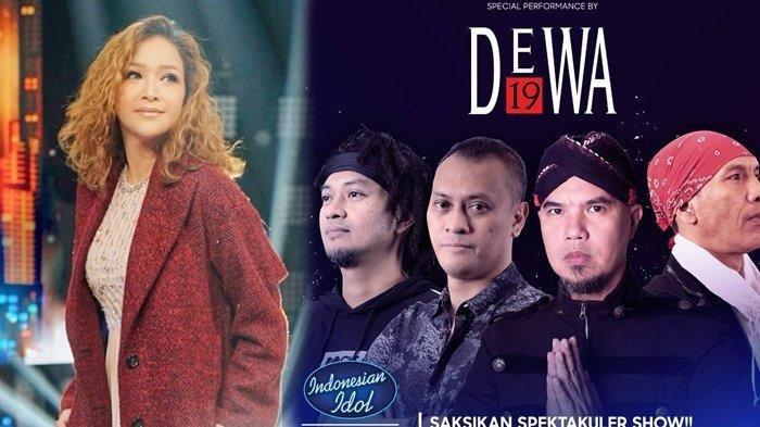 Dewa 19 Tampil Memukau di Indonesian Idol, Juri dan Penonton Standing Ovation Termasuk Maia Estianty