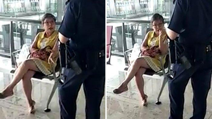 Wanita Ini Mengamuk Ketahuan Makan di Restoran Bandara, Kena Denda Rp 3 Juta Langgar  PSBB