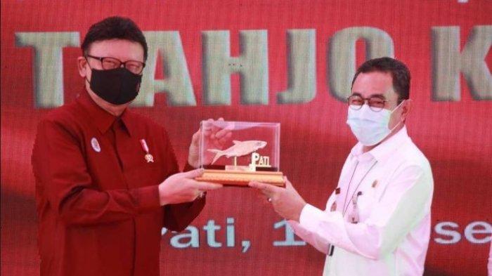 Ilustrasi: Menteri Pendayagunaan Aparatur Negara dan Reformasi Birokrasi (Menpan-RB) Tjahjo Kumolo saat meresmikan Mal Pelayanan Publik (MPP) di Kabupaten Pati, Jawa Tengah, Rabu (16/12/2020)