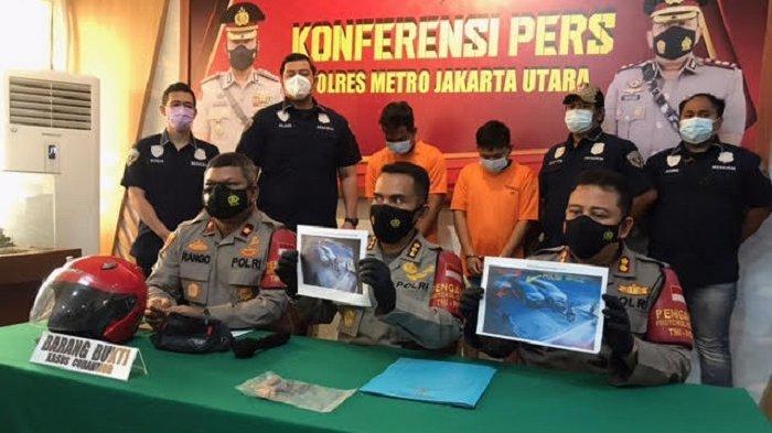Maling Motor Asal Indramayu Disergap Polisi Ketika Beraksi di Kelapa Gading