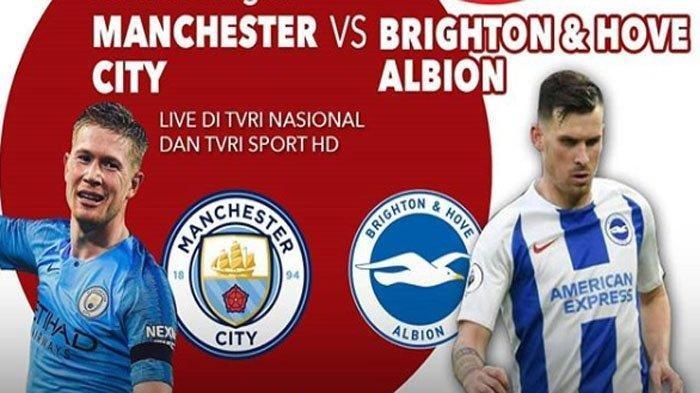 UPDATE Manchester City vs Brighton, Gol Kedua Sergio Aguero Ubah Kedudukan Jadi 3-0