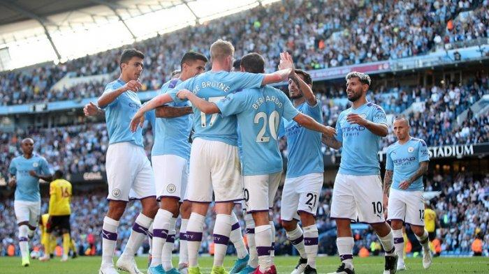 Manchester City Pesta Gol, Delapan Kali Bobol Gawang Watford Tanpa Balas