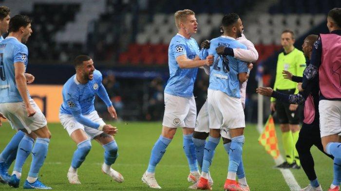 Comeback Dramatis Manchester City Lawan PSG, Hasil Akhir 1-2, The Citizens Diuntungkan Gol Tandang