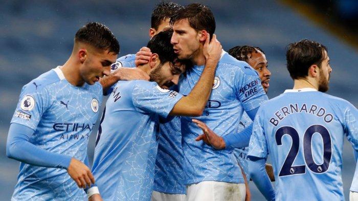 Live Streaming Mola TV Manchester United vs Manchester City di Carabao Cup Berikut Susunan Pemain