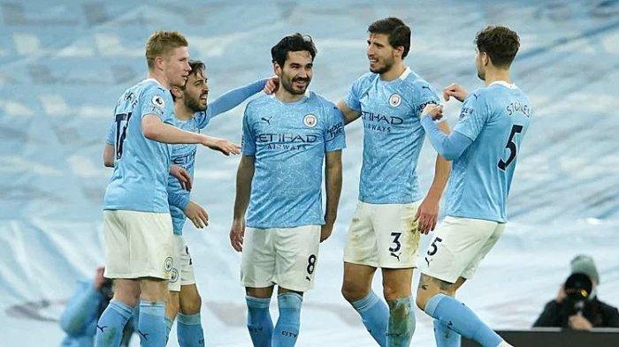 Ederson, Cancelo, Stones, Dias, De Bruyne dan Gundogan Terpilih PFA Premier League Team of the Year