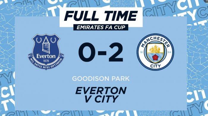 Hasil Akhir Everton vs Manchester City 0-2, Gol Cantik dari Ikay Gundogan dan Kevin De Bruyne