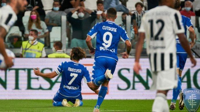 Juventus dipermalukan Empoli 0-1 lewat gol tunggal Leonardo Mancuso menit 21. Hasil itu membuat Juve terpuruk di peringkat 13. Pelatih Allegri jadi bahan olokan