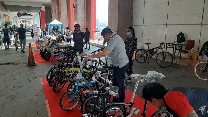 Gelar Bazaar Sepeda, Mangga 2 Square Hadirkan 42 Pelapak