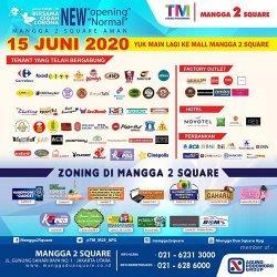 Mangga 2 Square Siap Beroperasi 15 Juni Dengan Prosedur New Normal