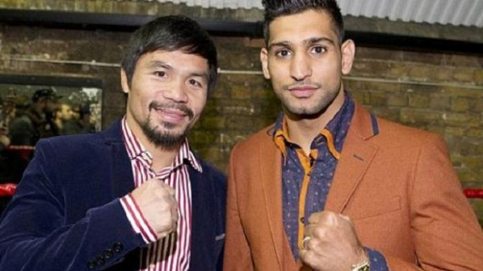 Akhirnya Duel Amir Khan dan Manny Pacquiao Akan Terwujud