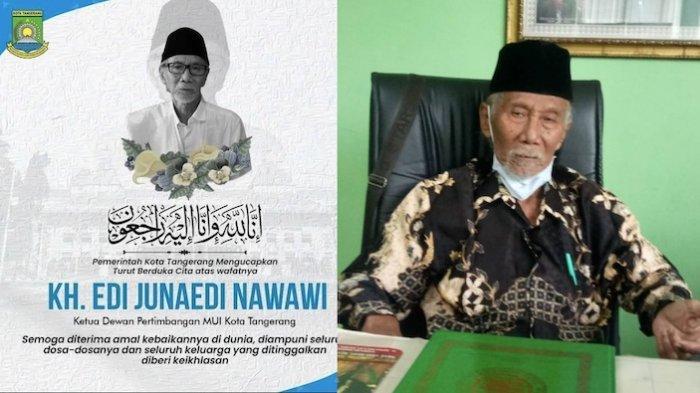 Kabar Duka, Mantan Ketua MUI Kota Tangerang Edi Junaedi Wafat