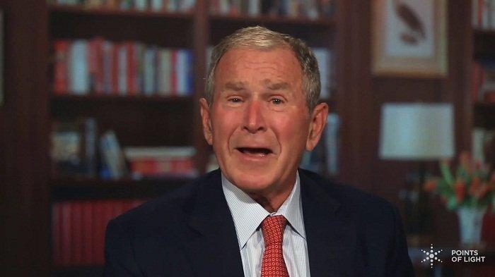 Kerusuhan di AS Bikin Mantan Presiden George W Bush Ogah Pilih Donald Trump di Pilpres 2020