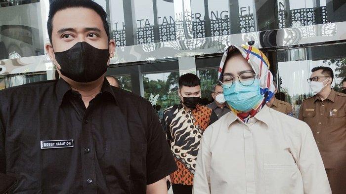Bertandang ke Pemkot Tangsel, Menantu Jokowi Minta Airin Rachmi Diany Bantu Pembangunan Kota Medan