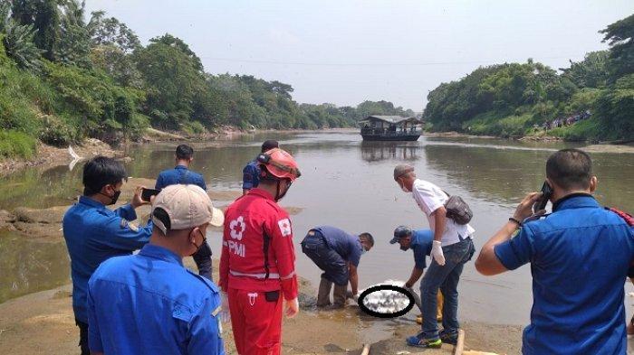 Jenazah Manusia Silver Ditemukan di Kali Bayur Karawaci Setelah 2 Hari Hanyut