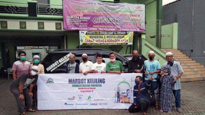 Marbot Keliling Bersihkan Masjid di Jabodetabek