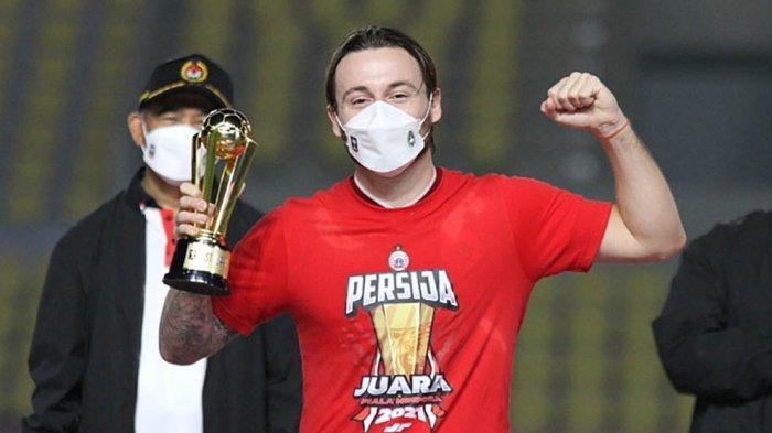 Gelandang Persija Jakarta Marc Anthony Klok Bertekad Memberikan yang Terbaik untuk Timnas Indonesia