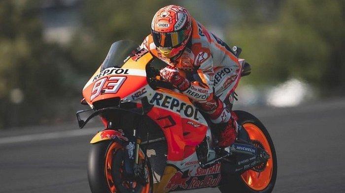 Marc Marquez Start Terdepan di Balap MotoGP Italia 2019, Valentino Rossi di Urutan ke-18