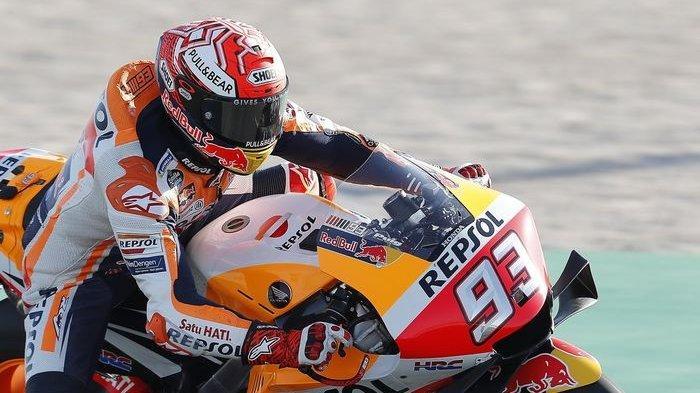 Marc Marquez Dominasi Sesi Latihan Bebas Pertama MotoGP Argentina