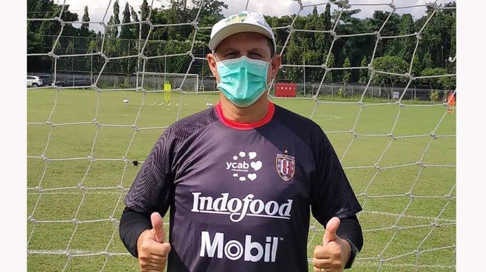 Pelatih Kiper Marcelo Da Silva Pires Memuji Kualitas Empat Penjaga Gawang yang Dimiliki Bali United