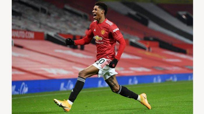 Marcus Rashford Striker Manchester United Diragukan Main Saat Hadapi Granada di Leg Kedua