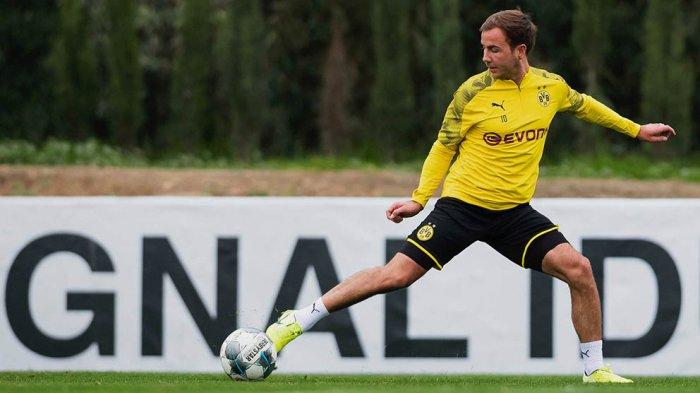 Mario Goetze saat masih bergabung di Borussia Dortmund