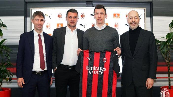Tranfer Januari di Liga Italia, AC Milan Aktif dapat 3 Pemain Baru, Inter Milan Nihil Pemain Anyar