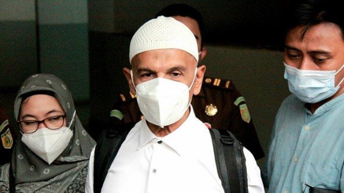 Mark Sungkar ditemui setelah pengajuan menjadi tahanan kota dikabulkan majelis hakim pada 5 Mei 2021.