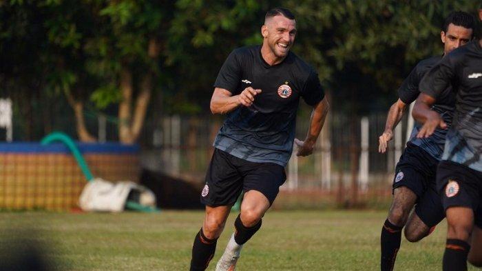 Marko Simic Akhirnya Gabung Latihan Bareng Persija Jakarta