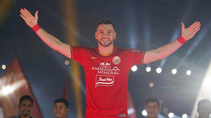 Ini Target Utama yang Ingin Dicapai Striker Persija Jakarta Marko Simic di Tahun 2021