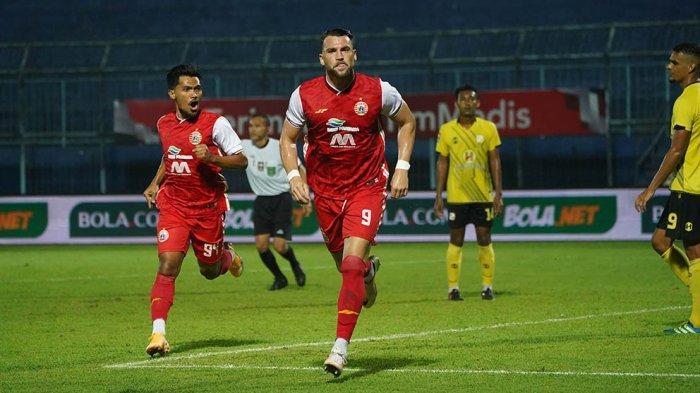 Sudirman Pelatih Persija Jakarta Tetap Memuji Penampilan Marko Simic Bersama Macan Kemayoran