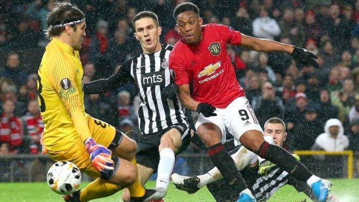 Manchester United Amankan Tiket 32 Besar Liga Europa, Ini Jalannya Pertandingan dan Hasil Lengkap